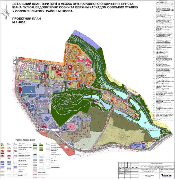ДПТ микрорайон Совки детальный план территории
