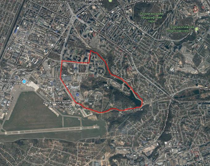ДПТ микрорайон Совки на карте