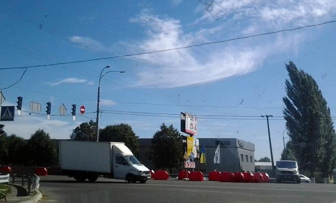 На Одесскую трассу в сторону Киева можно будет попасть по этому перекрестку