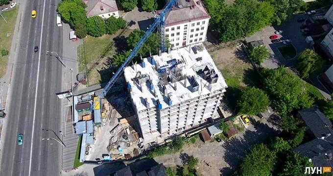 ЖК Bristol Comfort House аэросьемка хода строительства