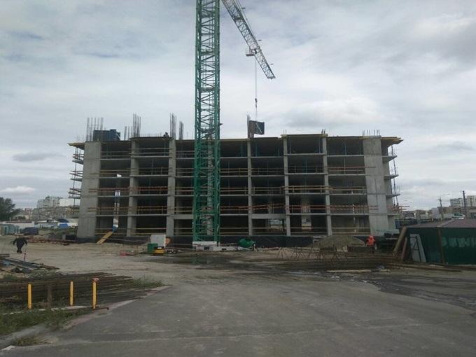 ЖК Лебединый ход строительства первого дома