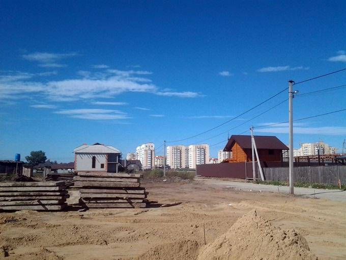 ЖК Петровский городок вид на ЖК Петровский квартал