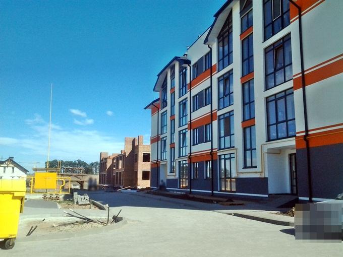 ЖК Петровский городок вид первого дома