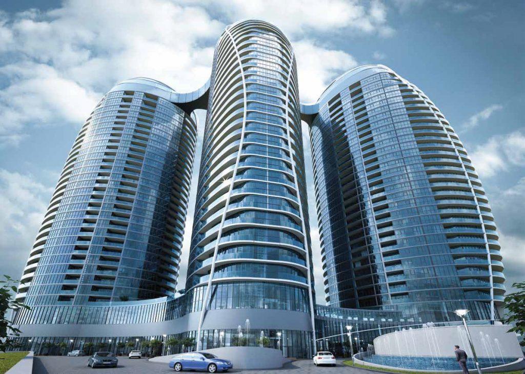 ЖК Taryan Towers фасад