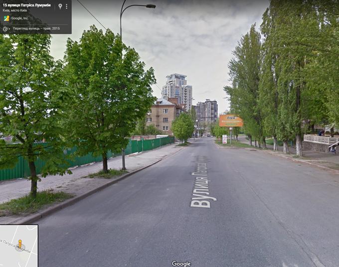 ЖК Taryan Towers вид с улицы Патриса Лулумбы
