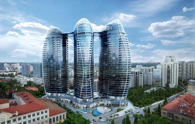 ЖК Taryan Towers визуализация