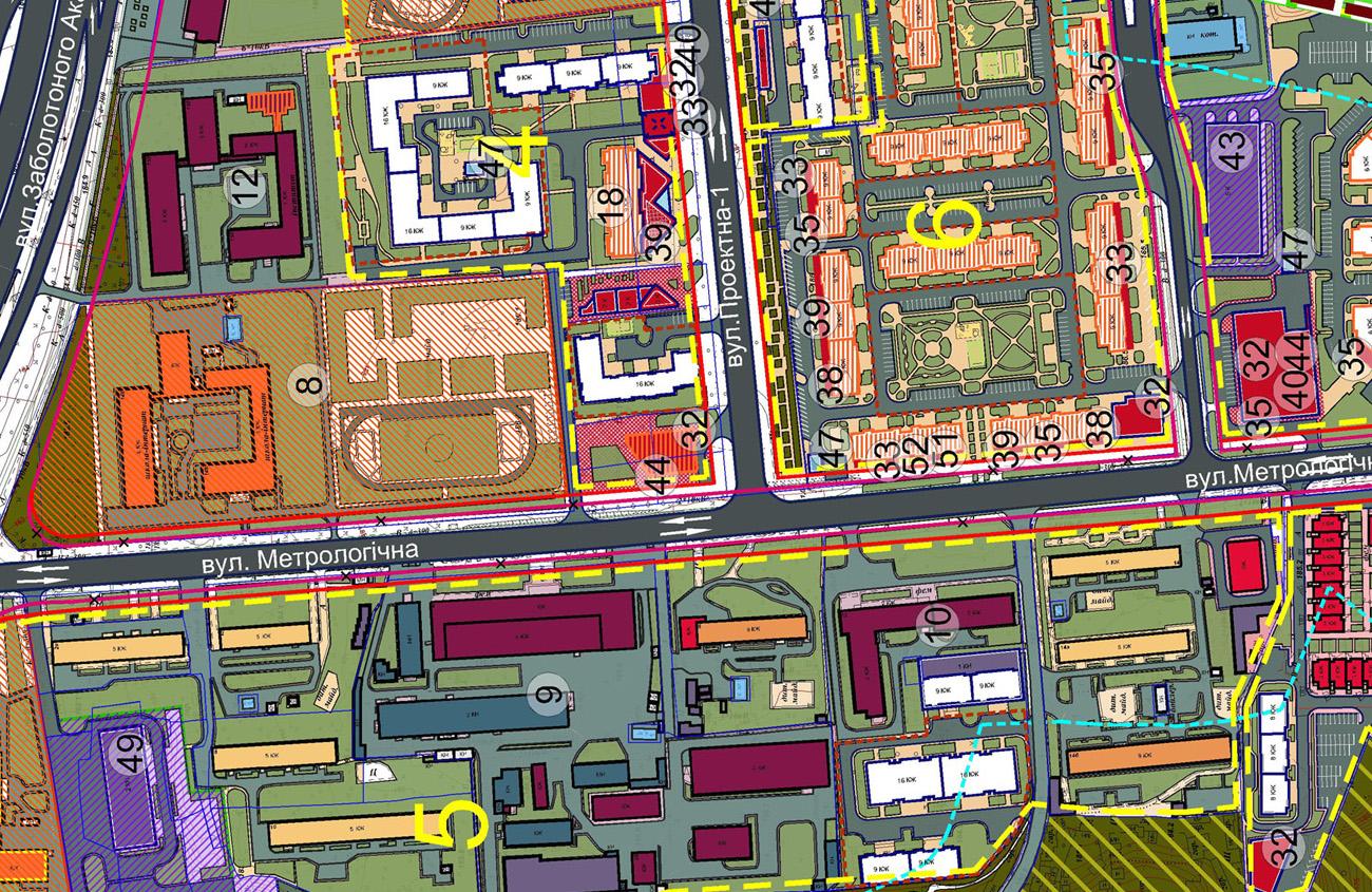 ДПТ Феофании проектный план
