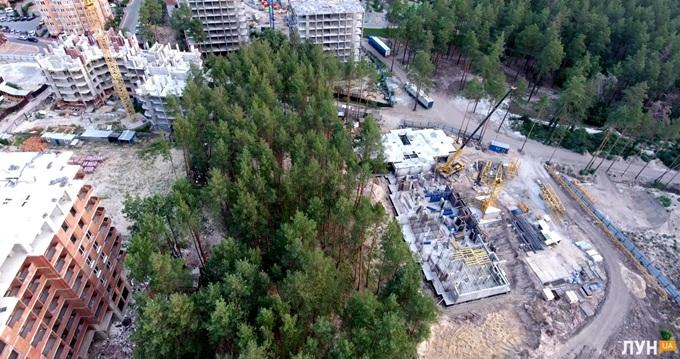 ЖК Сити Парк сверху: В плане дом будет Н-образным