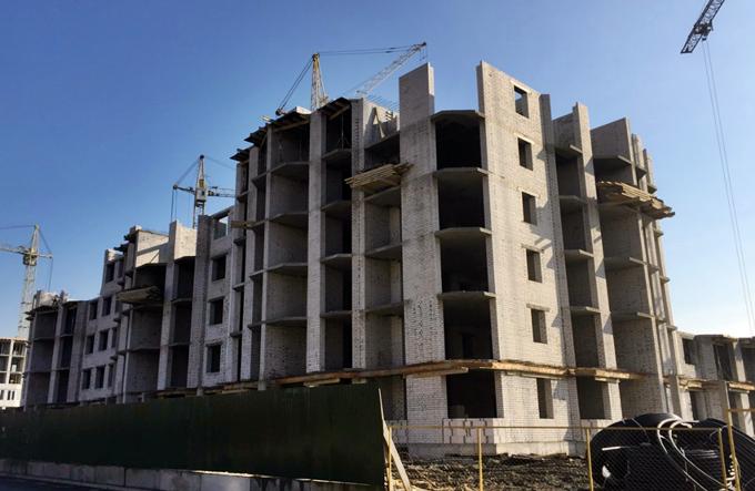 ЖК София в Софиевской Борщаговке ход строительства