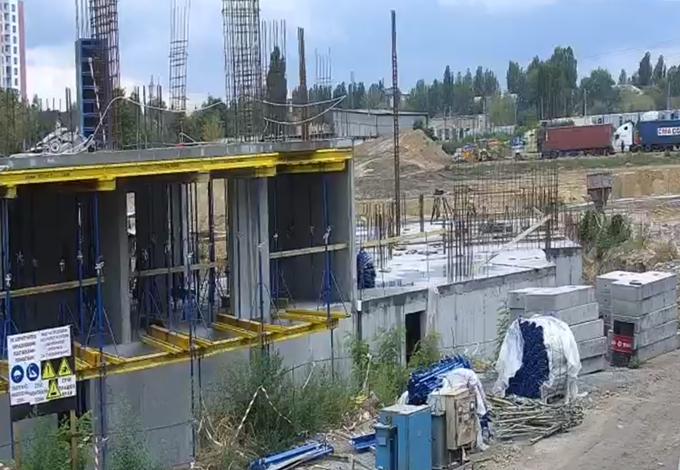 ЖК Сырецкие Сады от Интергал Буд ход строительства онлайн