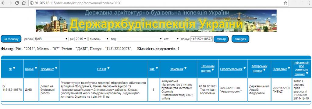 ЖК на Краковской 27-а данные базы ГАСК