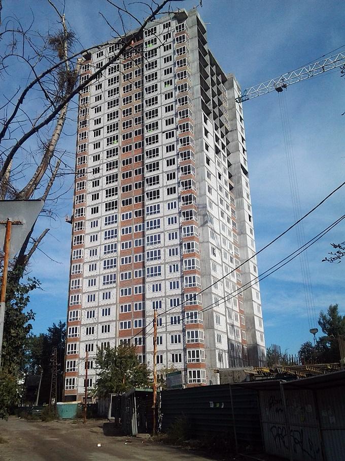ЖК на Краковской 27-а ход строительства