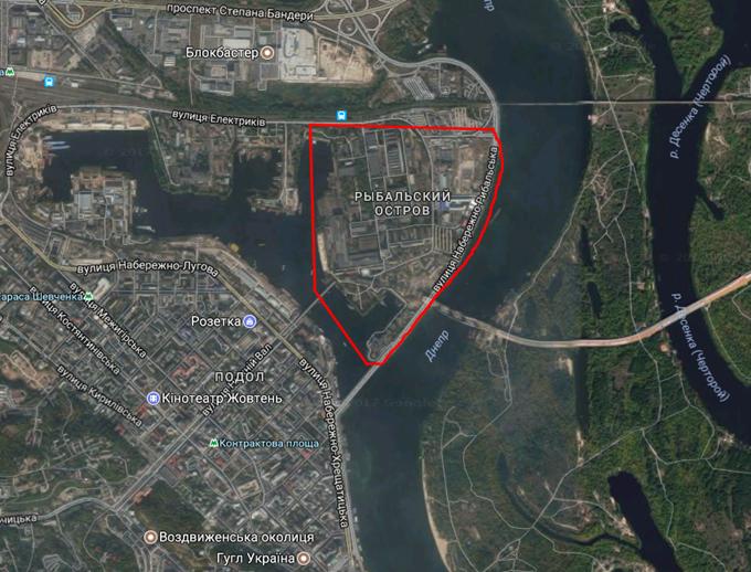 ДПТ микрорайон Рыбальский на карте