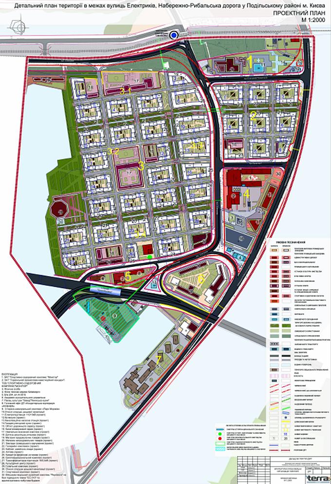 ДПТ микрорайон Рыбальский проектный план