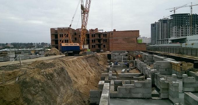 ЖК Киевский Буча ход строительства