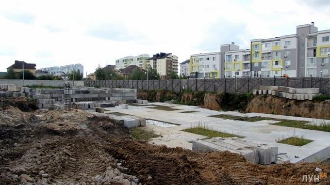 ЖК Мюллер Хаус ход строительства стройплощадка