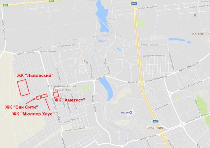 ЖК Мюллер Хаус на карте