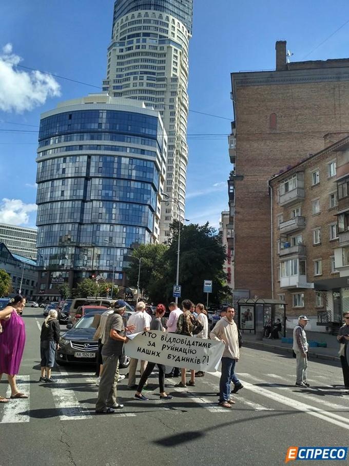 ЖК Signature на Мечникова протест против строительства
