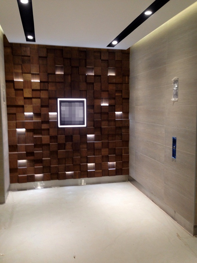 ЖК Тетрис Холл лифтовой холл