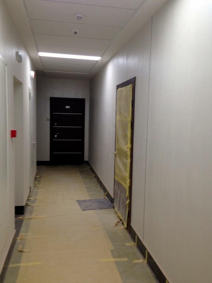 ЖК Тетрис Холл общий коридор