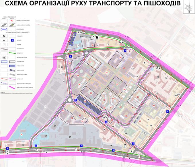 ДПТ промзона на Дегтяревской дорожный проект