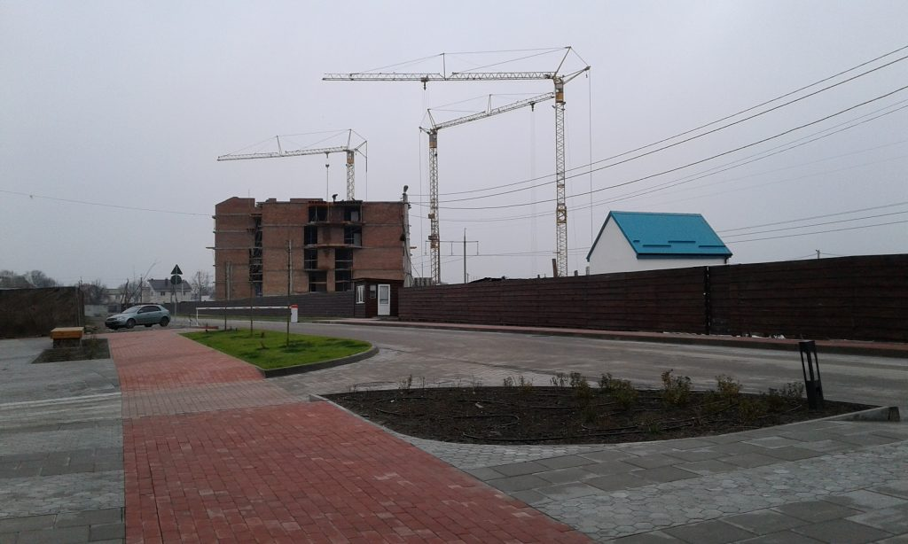 ЖК City Lake Шевченкове ЛЭП