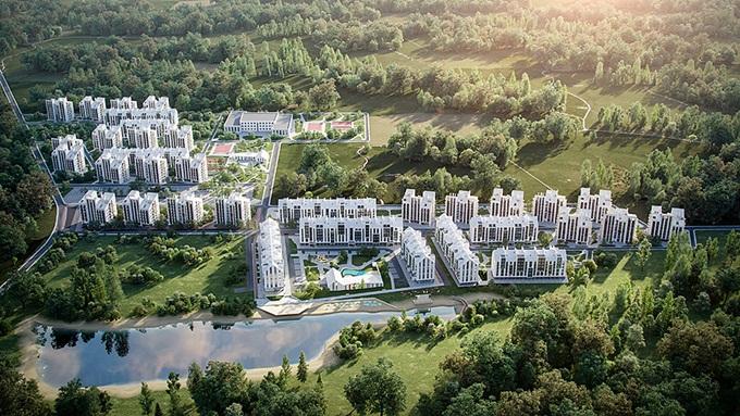 ЖК City Lake Шевченкове генплан
