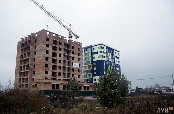 ЖК Модуль Буча ход строительства