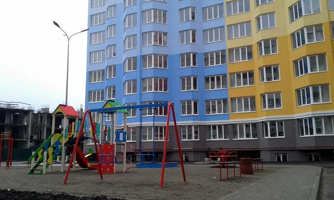 ЖК Святопетровский детская площадка