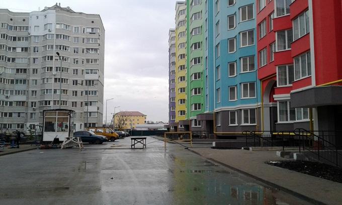 ЖК Святопетровский первые три секции