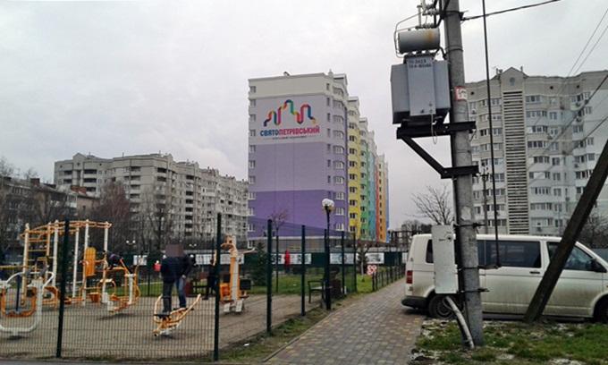 ЖК Святопетровский площадка