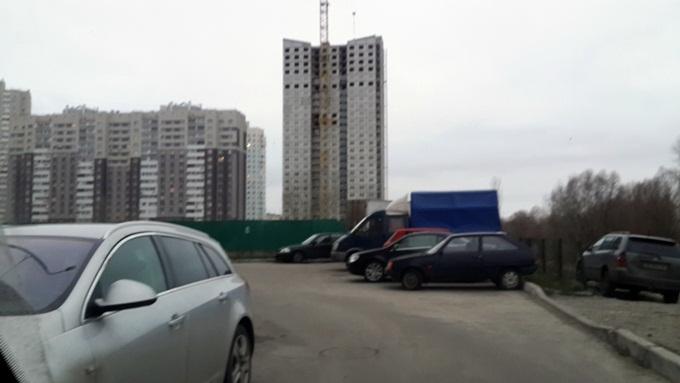 Жилой дом 3 Троещина ФК Столица вид