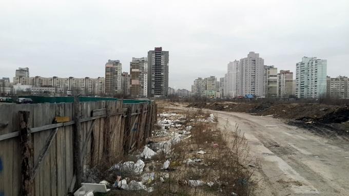 Жилые дома 1-3 Троещина ФК Столица окраина