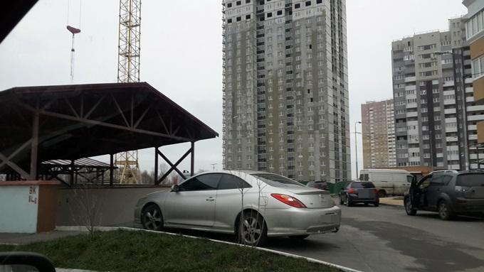 Жилые дома 1-3 Троещина ФК Столица паркинг