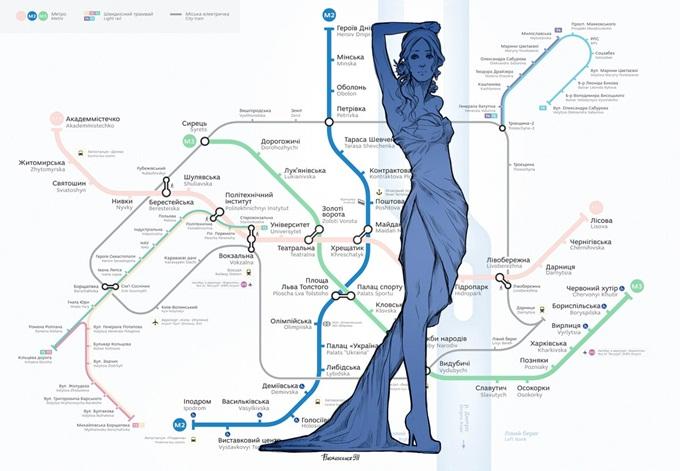 Новостройки синей ветки метро схема