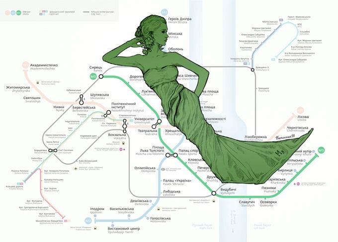 Новостройки зеленой ветки метро схема