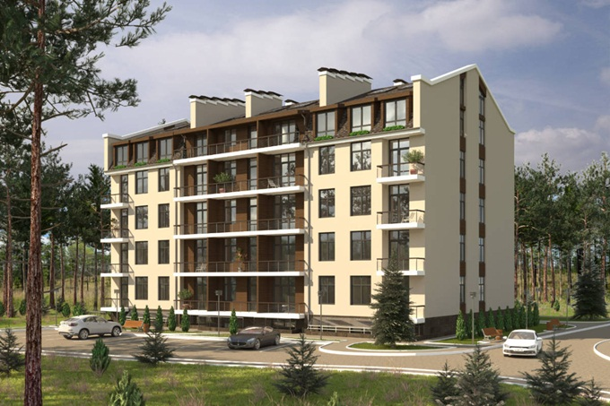 Новые метры проекты инвесторам Клубный дом Гринвуд