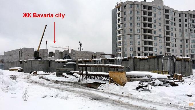 ЖК Бавария сити Крюковщина ход строительства