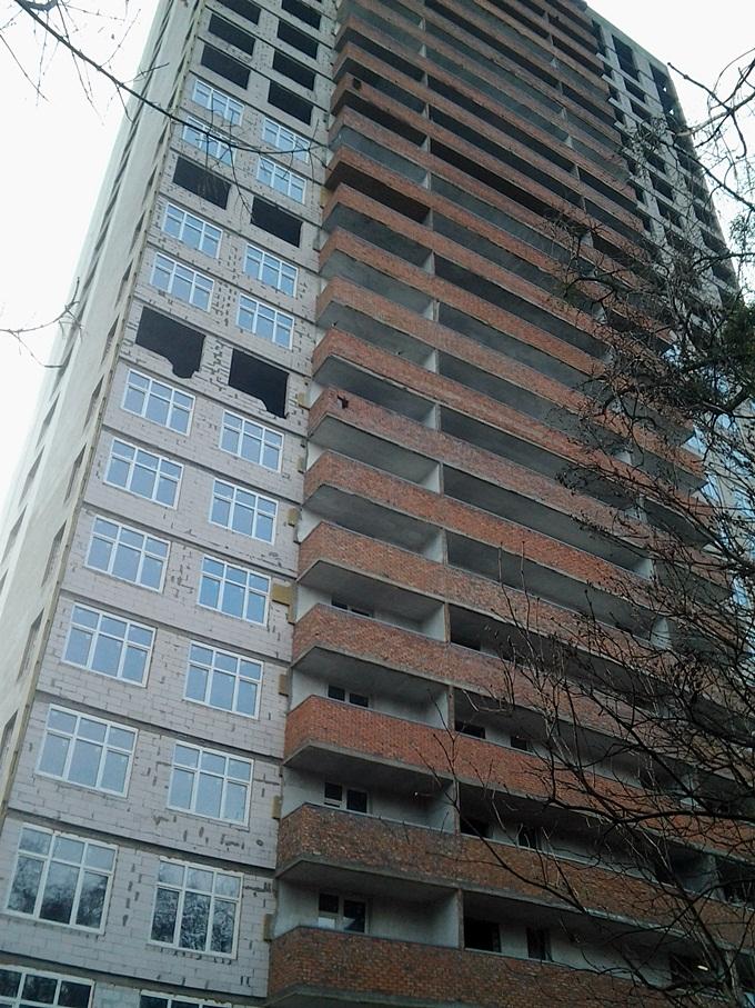 ЖК Голосеевский дворик ход строительства фасад