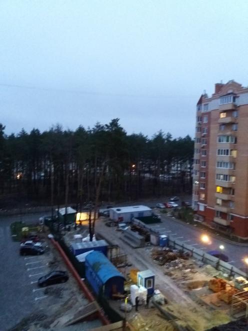 ЖК Киевский Ирпень придомовая территория