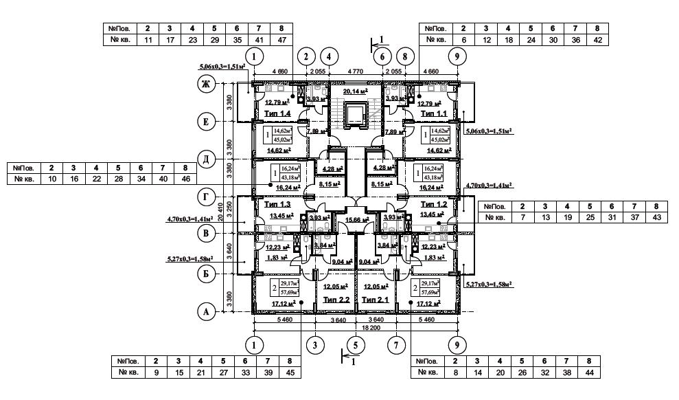 ЖК Мелоди Парк Пролиски поэтажный план первого дома