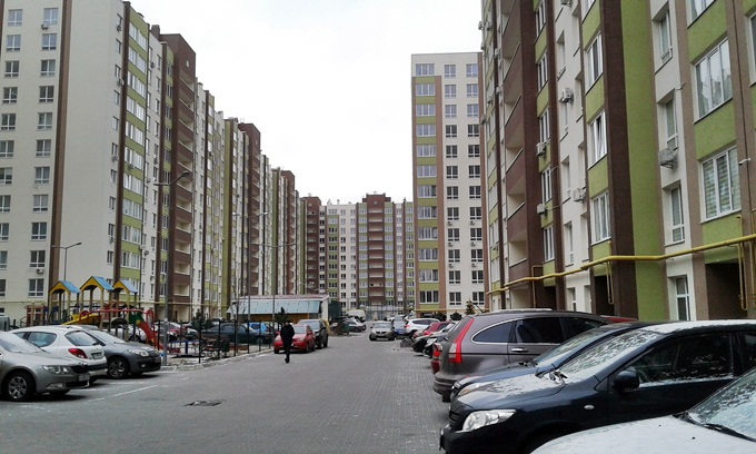 ЖК Софиевский квартал двор
