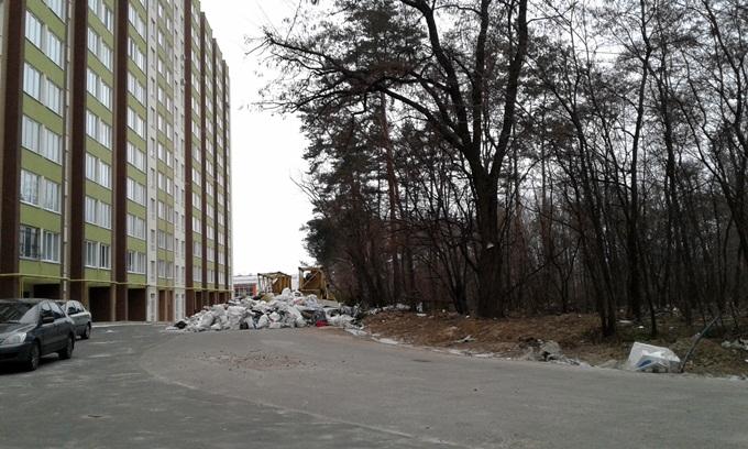 ЖК Софиевский квартал лес 2