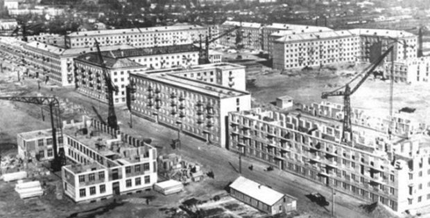 ДПТ микрорайон Чоколовка фото 1958