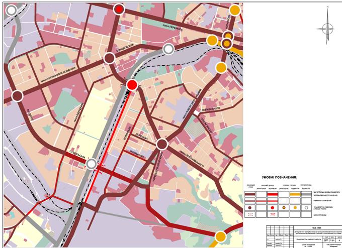 ДПТ микрорайон Чоколовка схемы улично дорожной сети