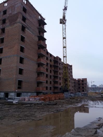 ЖК Сонячна оселя Буча ход строительства домов 1 2 3