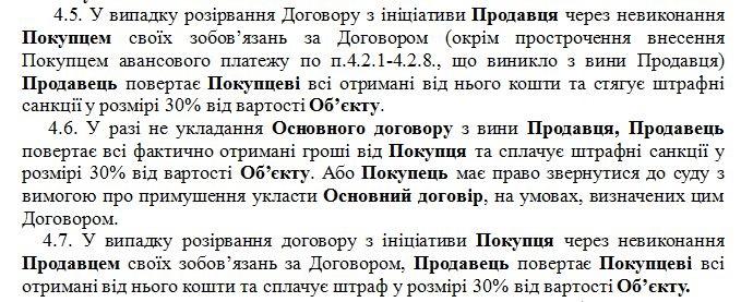 ЖК Центральный Ирпень договор покупателя