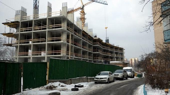 ЖК Гринвиль парк ход строительства первого дома