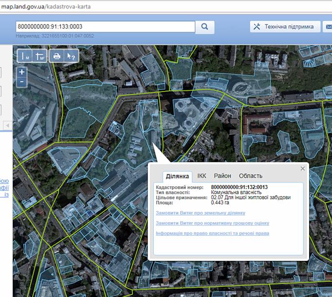 ЖК Гринвиль парк кадастровая карта