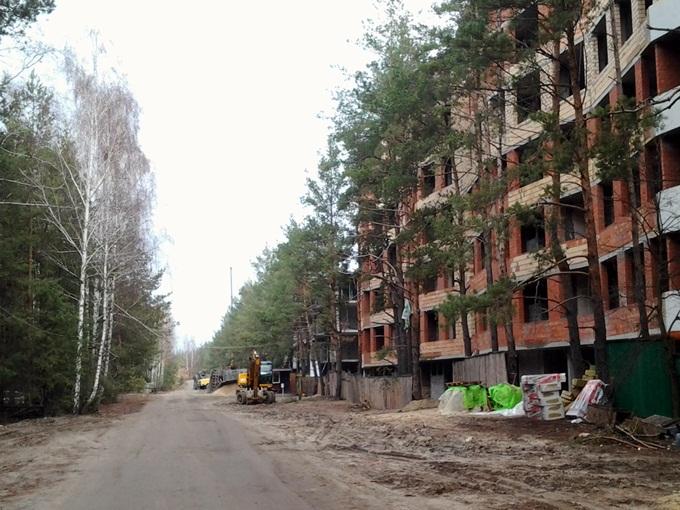 ЖК Парктаун Гостомель старый ход строительства